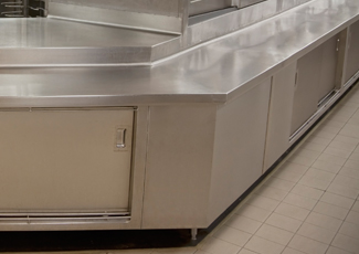 Chickasaw, AL Stainless Steel Kitchen Cabinets