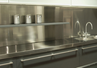 Stainless Steel Countertops - Foley, AL
